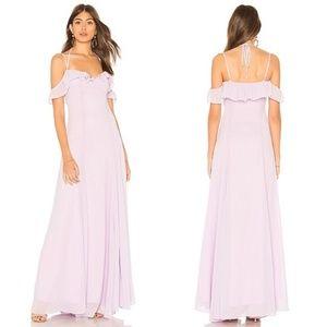 NEW Lovers + Friends • Leann Pastel Purple Gown